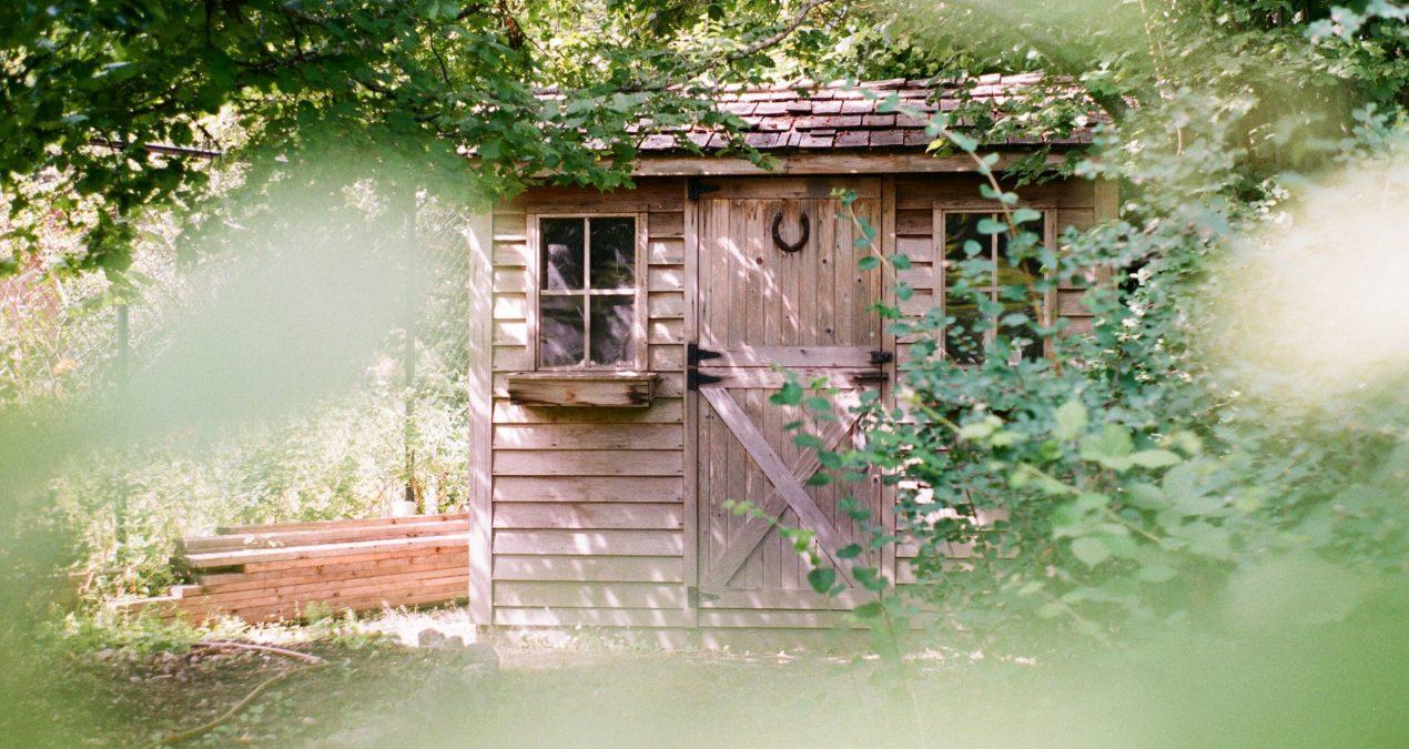 Comment construire une cabane de jardin ?